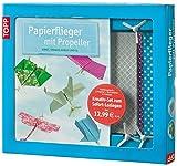 Kreativ-Set: Papierflieger mit Propeller: Buch mit 3 Propellern und 30 Blatt in 5 Farben (Buch plus Material)