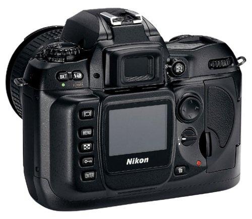 Nikon D-100 digitale Spiegelreflexkamera (6,0 Megapixel, nur Gehäuse)