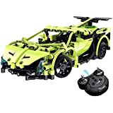 CrossRace CR Build Your Own DIY Building Block Kits 1:14 2.4GHz Full Functional Rechargeable Remote Control Car RC Block Buggy Electric Assembly Construction