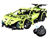 Model Kits Build Your Own Remote Control Car, CrossRace Electric Kit Toys, 1:14 2.4GHz Construction Kits Sets, Gift Toys for 12 Years Old Boys, Green