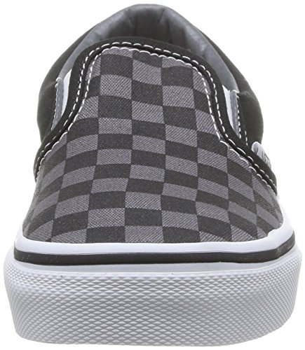 Vans CLASSIC SLIP-ON Low-Top Sneaker, Unisex Bambino Multicolore (Checkerboard) EO0)