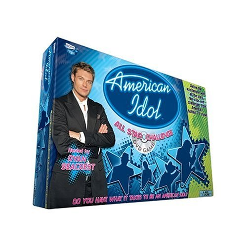 Click for larger image of American Idol - All Star Challenge DVD Game