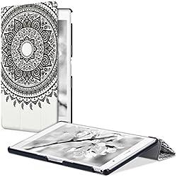 kwmobile Étui Sony Xperia Tablet Z3 Compact - Étui à Rabat Protection pour Tablette Sony Xperia Tablet Z3 Compact avec Fonction Support