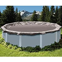 Swimline SD12RD 12 'Deluxe piscina fuori terra di copertura invernale