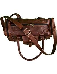 Original Leather Duffle Cum Gym Bags, Travel Duffel Bags For Men/Women/Girls/men Craft 48 By NeoFeral