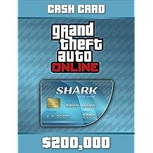 Grand Theft Auto Online | GTA V Tiger Shark Cash Card | 200,000 GTA-Dollars | PC Download Code