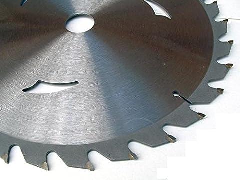 g78046Ø185MM x 20mm x 60Z Lame de scie circulaire en métal dur HM refroidi par air Lame de scie TCT