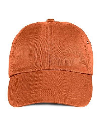 anvil Herren Low Profile Twill Cap 6 Panel / 156 Taille unique,Orange - Burnt orange