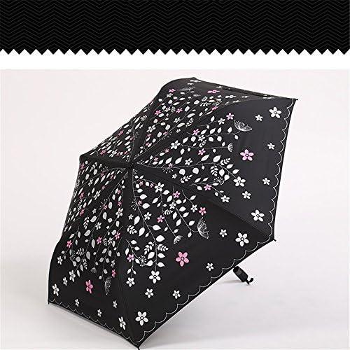 Wouomo UV-resistente ultra-light ombrellone stampato pieghevole rinforzo rinforzo rinforzo antivento ombrello di viaggio novità regalo,A | Aspetto estetico  | prendere in considerazione  bfab1f