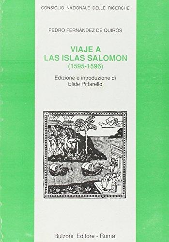 Viaje a las islas Salomón (1595-1596) (Cnr-Lett.e culture dell'America latina)
