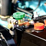 AutoScheich® KFZ Batterietrenner Trennschalter Poltrenner Polklemme Batterie Stop Batterieklemmen 6V 12V 24V
