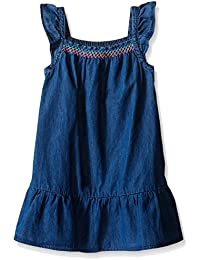 The Children's Place Girls' Flutter Sleeve Casual Dress