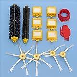 Yongse 14pcs Kit de accesorios para aspiradoras Filtros y Cepillos para iRobot Roomba serie 700