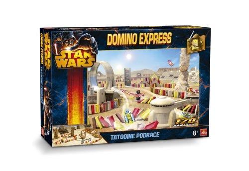Goliath - 80981.004 - Jeu d'action et de Réflexe - Domino Express Racing - Star Wars