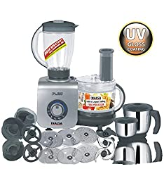 Inalsa Maxie Premia 800 WATT Food Processor with 3 JAR
