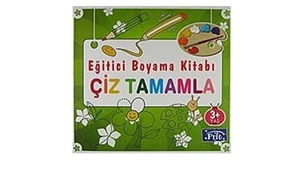 Egitici Boyama Kitabi Ciz Tamamla Amazoncouk Kolektif