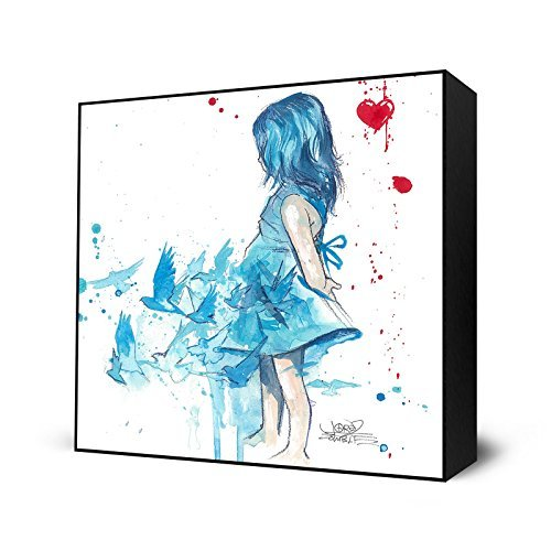 Girl Zombie - Blau von Lora Zombie Girl Mini-Art,
