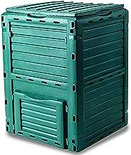 GARDEN FRIEND C1933431 Composter 300 Lt. in Polipropilene Resistente alle intemperie, Verde