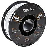 AmazonBasics Filament PETG pour imprimante 3D, 2,85 mm, Blanc, bobine de 1 kg