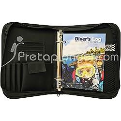 Padi Pack classeur Cordura avec Passeport et carnet de plongée Diver's Log - VF