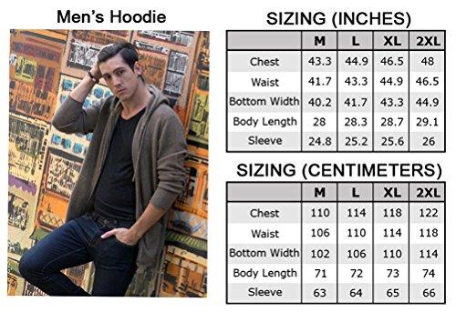 Felpa con Cappuccio (Uomo) - 100% in lana di Yak tiberano - da Citizen Cashmere Marrone