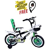 Speed Brid 14-T NEXTRA With Back Carrier Kid Bicycle Baby Cycle For Boys & Girls - Age Groupe 3-6 Years (Green)