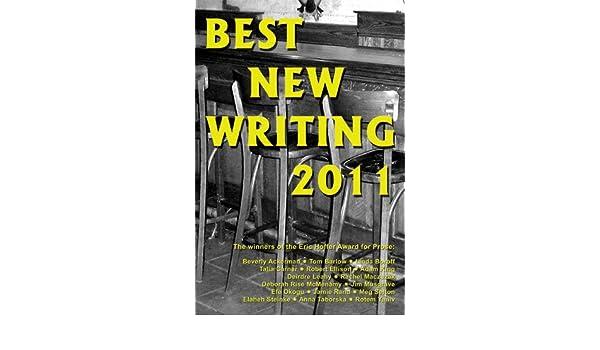 Best New Writing 2011 eBook: Adam King, Deborah Rise