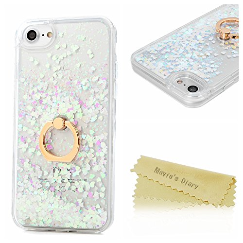 maviss-diary-iphone-7-case-47-360-degree-rotating-ring-stand-flowing-liquid-glitter-sparkly-stars-lo