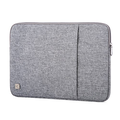 "Caison Impermeable 10"" Tablet Portátil Notebook Sleeve Case Classic de la Bolsa Protectora piel Cover para Apple 9.7"" iPad Pro / Air / Air 2 (Gris)"