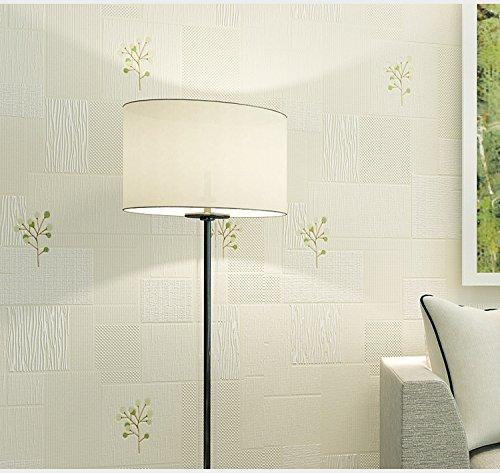 BBSLT Semplice e moderno impianto di giardino sfondo semplice e geometrica box camera da letto (Box Parati)