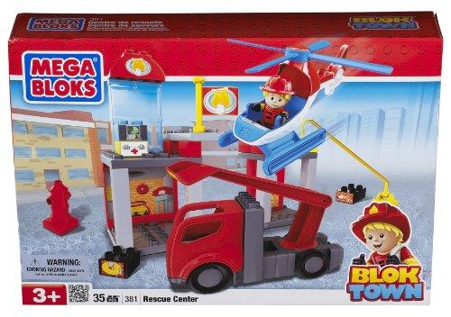 Mega Bloks 381 - Mini Blok Town Rettungsstation