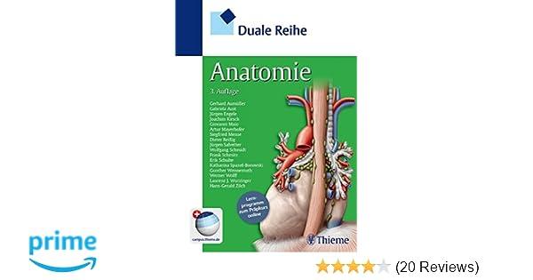 Duale Reihe Anatomie: Amazon.de: Gerhard Aumüller, Gabriela Aust ...
