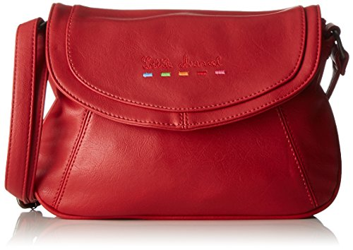 Little Marcel femme Id05 Sac bandouliere Rouge (Red)
