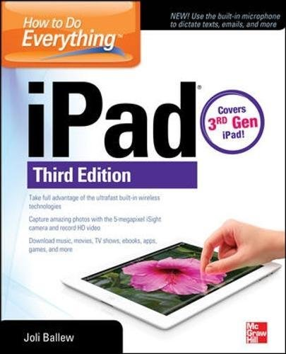 How to Do Everything: iPad: covers 3rd Gen iPad