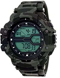 hala 1017 Solitary Army Pattern Sports Revolution Men's Watch
