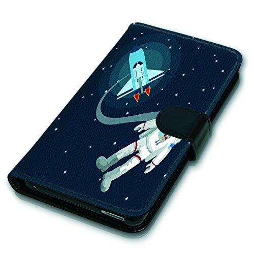 Wallet Book Style Flip Handy Tasche Case Schutz Hülle Schale Motiv Etui für Apple iPhone 5 / 5S - Variante UMV10 Design12 Design 6