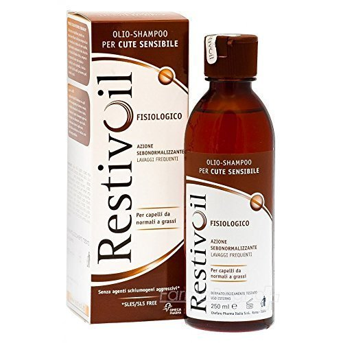 Restivoil Physiological Oil Shampoo 250ml by CHEFARO PHARMA ITALIA Srl