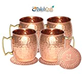 Best Moscow Mule Mugs - DakshCraft ® Handmade Pure Copper Hammered Moscow Mule Review