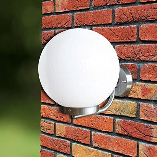 Tidyard- Außen Wandleuchte 32 cm Edelstahl Stainless Steel Wall Lamp Outdoor Wall Light Outdoor Light with Light -