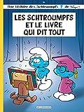 les schtroumpfs lombard tome 26 schtroumpfs et le livre qui dit tout les
