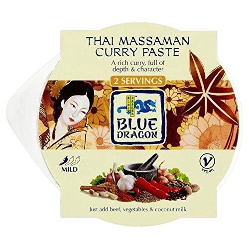 Blue Dragon Thai Massaman Curry Kochtopf Pasta 50g (Packung von 6)