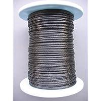 Gepotex Dyneema Flechtschnur carbongrau Durchmesser 3mm (Dyneema-Flechtleinen)