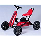 Baybee Champion Pedal Go Kart Racing Car (Red)