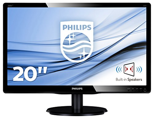 Philips 200V4LAB2/00 20-Inch LCD Monitor with LED Backlight
