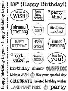 SRM autocollant Sentiments-anniversaire