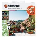 Gardena 1401-20 Micro-Drip-System Start-Set für Terrassen