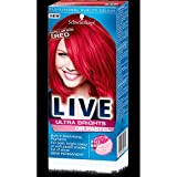 3 x Schwarzkopf Live Color XXL Ultra Brights Semi-Permanent Colour 92 Pillar Box Red