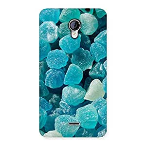 Special Bluish Gem Print Back Case Cover for Micromax Unite 2 A106