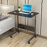 Hjbh123 HJBH Fiberboard/Stahlstruktur Computertisch Faule Nachttisch Home Desk Dormitory Mobiles Heben Einfache praktische Größe: Länge 80cm / Breite 50cm / Höhe (70-90cm) Farbe: (4 Farben optional)