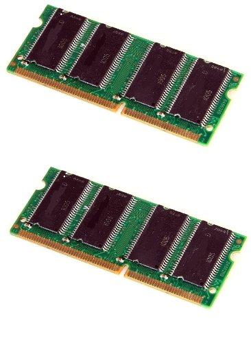 CM3-Arbeitsspeicher-256-512MB, SDRAM SODIMM, PC100oder PC133, kompatibel mit AMD, VIA, SIS, nForce und INTEL 2 x 512MB PC133 -